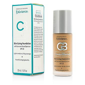 Exuviance CoverBlend pelle cura Foundation SPF20 - # deserto sabbia 30ml / 1oz