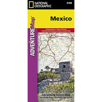 Mexico adv. ng r/v (r) wp - 1/2245M (Adventure Map (Numbered)) (Map) by Maps National Geographic