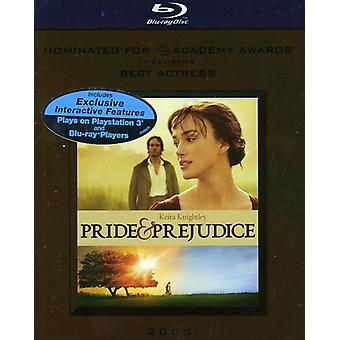 Pride & Prejudice [BLU-RAY] USA import