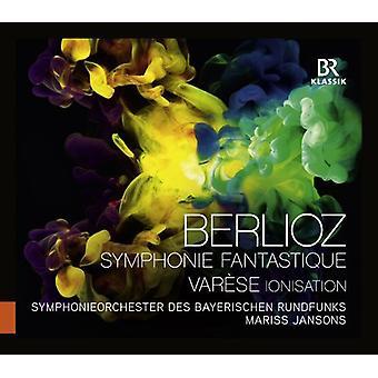 Berlioz/Varese/Jansons - Symphonie Fantastique/ionisering [CD] USA import