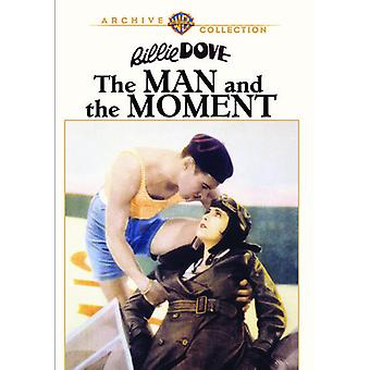 Man & the Moment [DVD] USA import