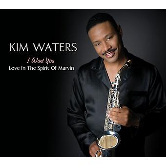 Kim Waters - I Want You-Love in the Spirit of Marvin [CD] USA import