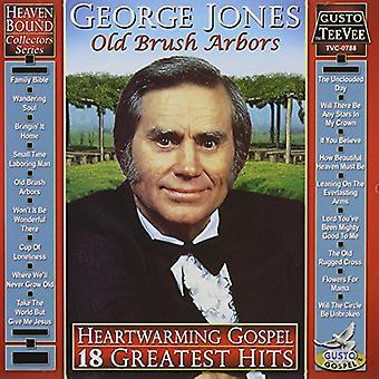 George Jones - Heartwarming evangeliet: 18 Greatest Hits CD] USA importerer
