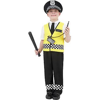 Policeman boys costume