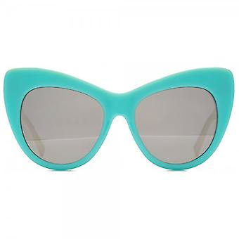 Occhiali da sole Childrens Cateye di Stella McCartney Kids In argento avorio verde