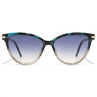 Marc Jacobs Cateye Sunglasses In Teal Pink