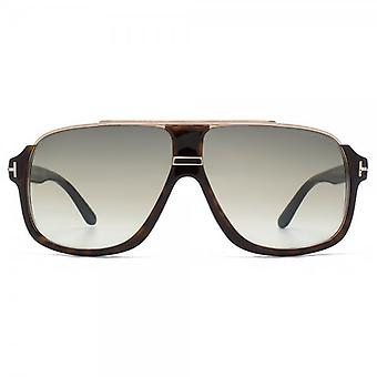 Tom Ford Elliot Sunglasses In Havana