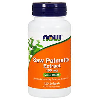 Now Saw Palmetto 160 mg 120 Softgel (Vitamins & supplements , Multinutrients)