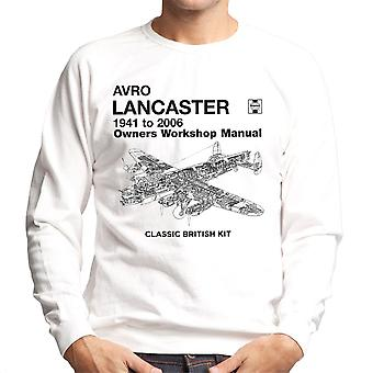 Haynes ejere Workshop Manual Arvo Lancaster 1941 til 2006 mænds Sweatshirt