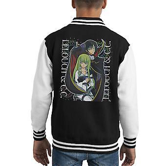 Lelouch And CC Code Geass Kid's Varsity Jacket