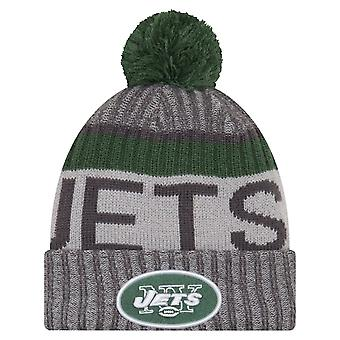 Nowa era NFL linii bocznej 2017 Bobble Hat - New York Jets