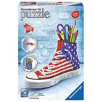 Ravensburger Shoe 3D Puzzle Pieces Portalapices 108 (Speelgoed , Bordspellen , Puzzels)