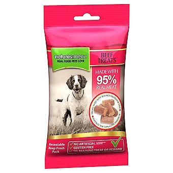 Natures:menu Dog Treats Beef 12 X 60 Grs (Dogs , Treats , Chewy and Softer Treats)