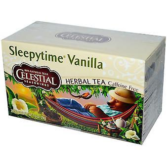 Té de vainilla Sleepytime condimentos celestiales