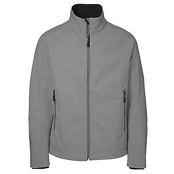 ID Mens Functional Full Zip Fitted Soft Shell Jacket