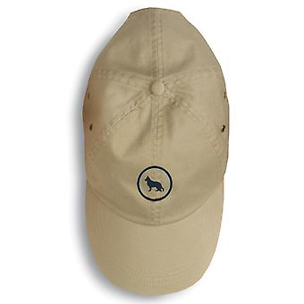 Carolines Treasures  156-1129-KHBL German Shepherd Baseball Cap 156-1129