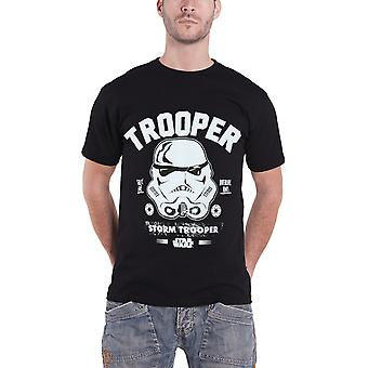 Star Wars T Shirt Stormtrooper Collegiate new Official Mens Black