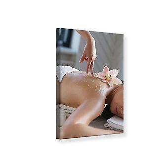 Canvas Print Spa Massage