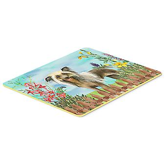 Carolines Treasures  CK1221CMT Chinese Crested Spring Kitchen or Bath Mat 20x30