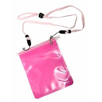 Pink Carrylock Wearable WaterProof Pouch from Caraselle