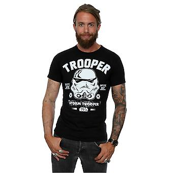 Star Wars Men's Stormtrooper Collegiate T-Shirt