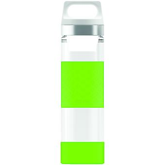 Sigg Hot & Cold Glass WMB Bottle with Double - Layered & Two Filters