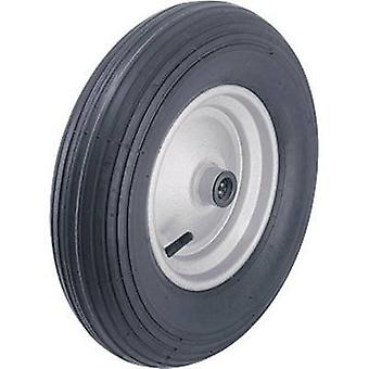 Blickle 254839 Wheel with pneumatic tyres and steel sheet-rims with ball bearing, Ø 400 mm