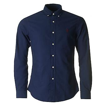 Polo Ralph Lauren Slim Fit tvättad Oxford skjorta