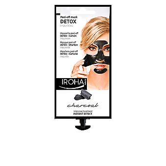 Iroha Detox Charcoal Black Peel Off Mask New Womens Sealed Boxed