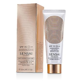 Kanebo Sensai Silky Bronze Cellular Protective Cream For Face SPF 15 50ml/1.7oz