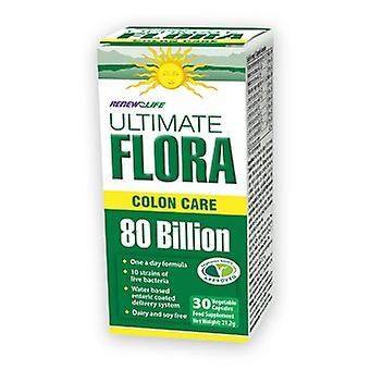 Renew Life Ultimate Flora 80 Billion, 30 capsules