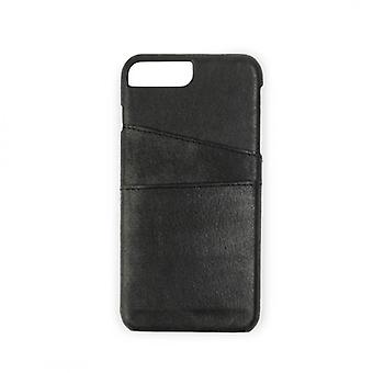 GEAR casing Onsala leather black with Slot iPhone 6/7/8 Plus