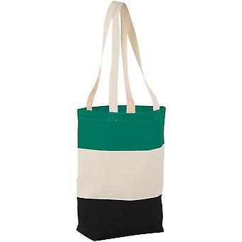 Bullet Cotton Colour Block Tote