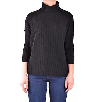 Jucca ladies MCBI466018O black Wool Sweater