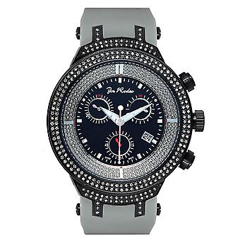 Joe Rodeo diamond men's watch - MASTER Black 2.2 ctw