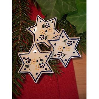 Star to hang, Ø 5.5 cm, tradition 14, BSN 2046