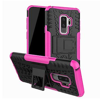 Hybrid case 2 piece SWL outdoor Pink for Samsung Galaxy S9 G960F bag cover