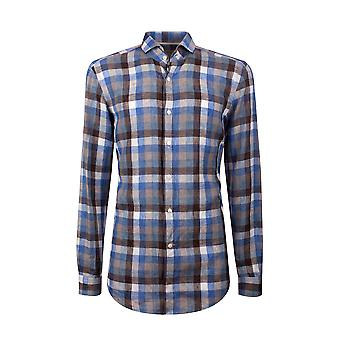 Fabio Giovanni San Marco Shirt - High Quality Finest Italian Linen Check Shirt