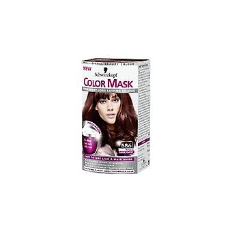 Schwarzkopf Color Mask - Warm Mahogany 586