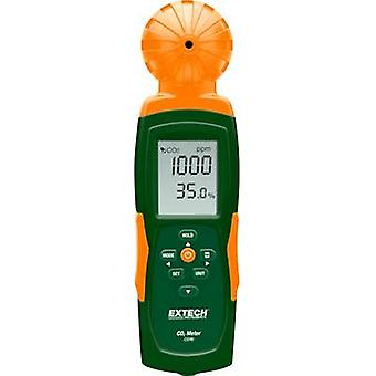 Extech CO240 Carbon dioxide detector 0 - 9999 ppm thermometer, USB interface, Datalogger function