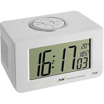 TFA 60.2516 Radio despertador alarma blanco veces 1