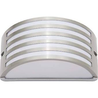 Brilliant Celica 96130/82 Outdoor wall light Energy-saving bulb, LED E27 60 W Stainless steel