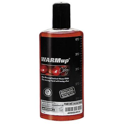 Massageolie WARMUP kersen 150ml