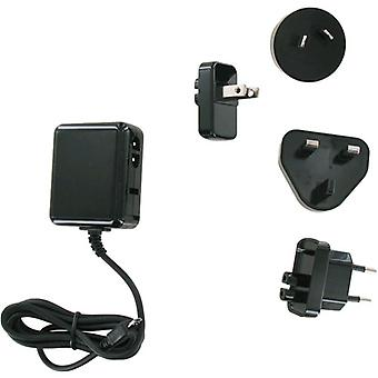 Unlimited Cellular International Charger Kit for Motorola Xoom 2, ARCHOS G9, Bla