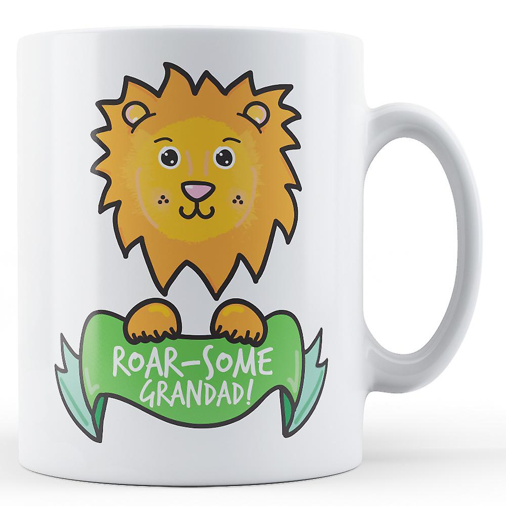 some Roar GrandadLionPrinted GrandadLionPrinted Mug Mug some Roar Roar Roar GrandadLionPrinted Mug some some TJK1Fcl