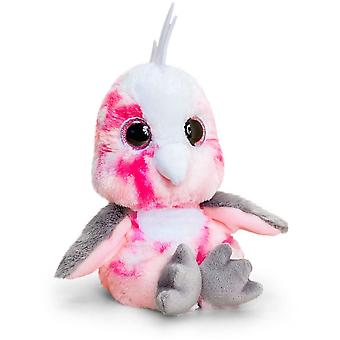 Keel Toys Animotsu Rosa Nymphensittich