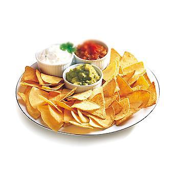 La Mexicana Dreieck gesalzen schlicht Tortilla-Chips