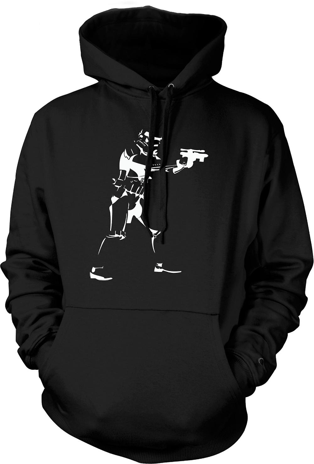 Mens Hoodie - Star Wars - Storm Trooper - Pop Art