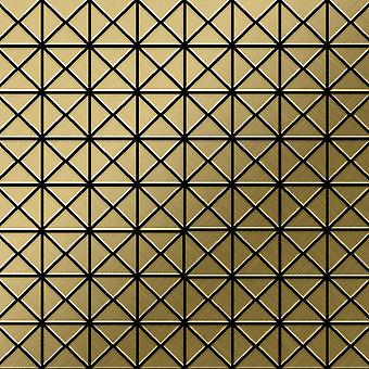 Mosaico de metal sólido Titanio ALLOY Deco-Ti-GB