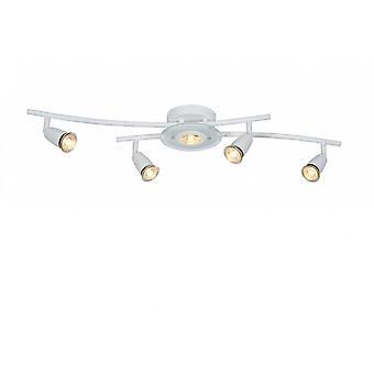 Lucide Bingo-LED moderne weiße Metalldecke Spot-Licht